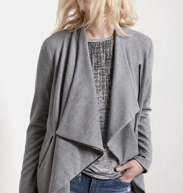 Fifteen Twenty Asymmetrical Zip Crop Jacket