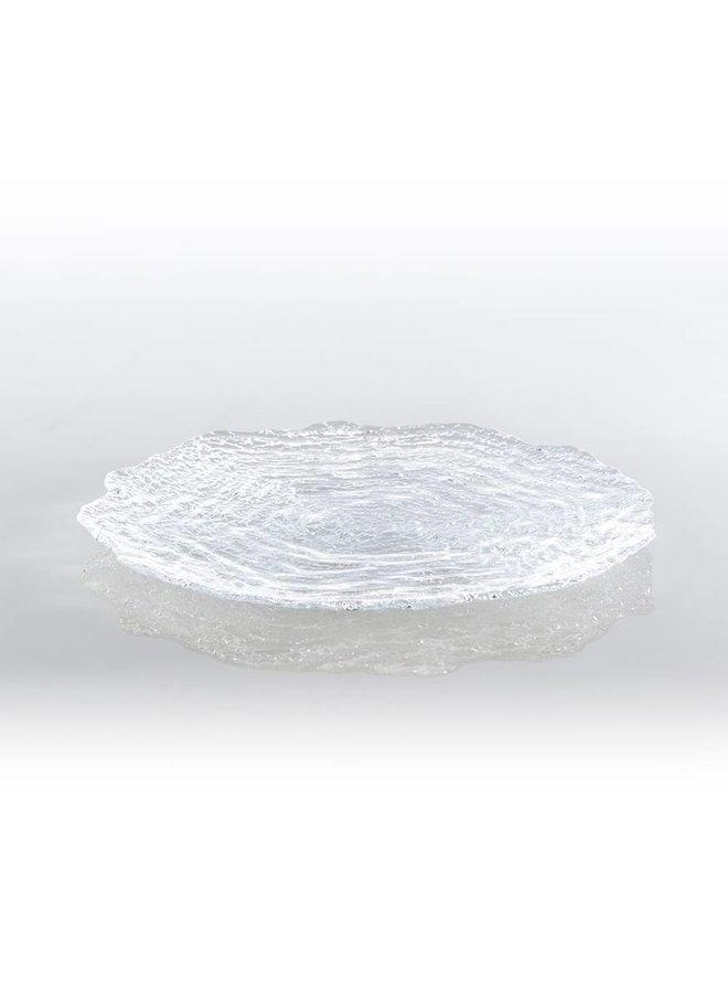 Clear Glacier Platter
