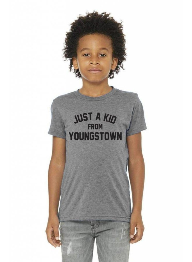 Look Book - Just a Kid from Youngstown Tee -