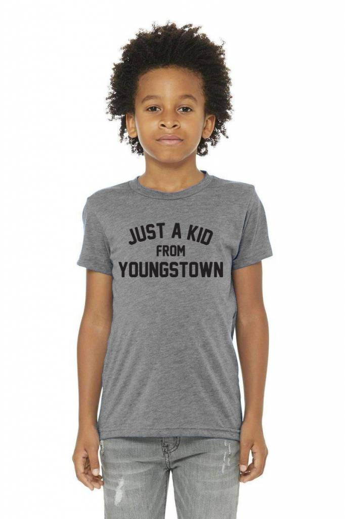 Pop's Printed Apparel Just a Kid from Youngstown Tee -