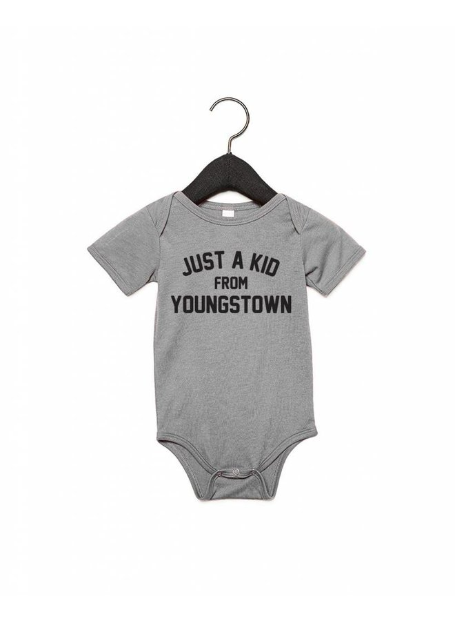 Just a Kid from Youngstown Onesie -