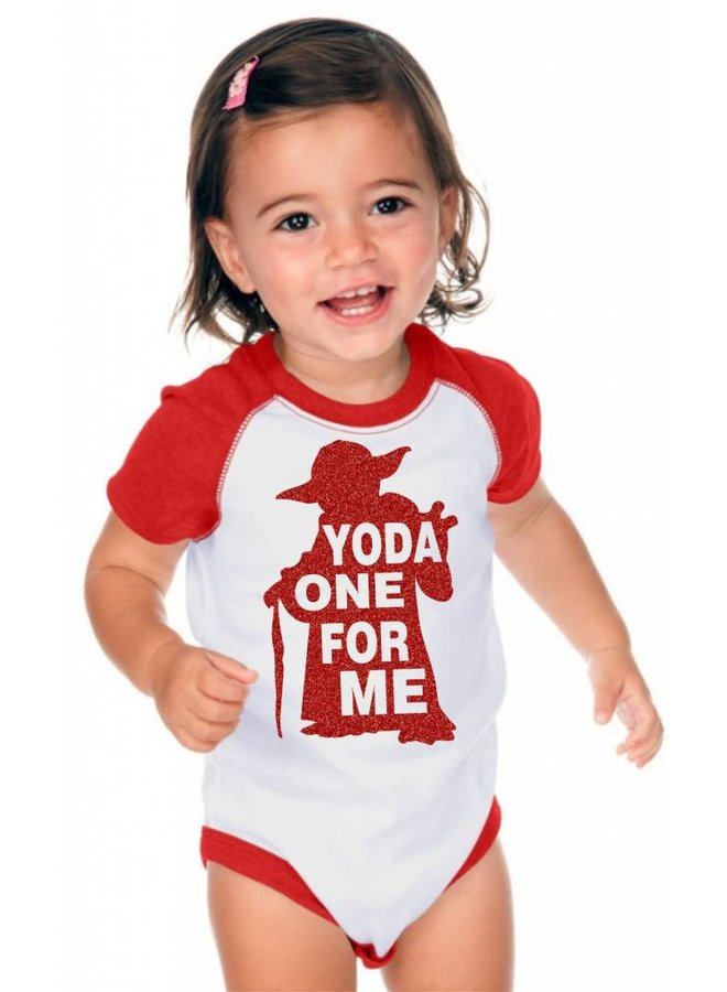 Yoda The One For Me Onesie