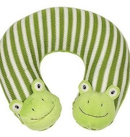 Maison Chic Freckles the Frog Travel Pillow