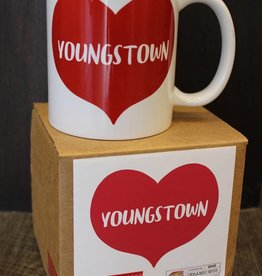 Rock Scissor Paper Youngstown Heart Mug