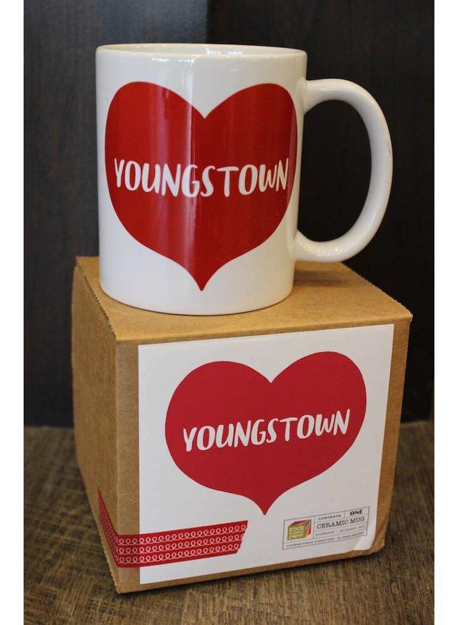 Youngstown Heart Mug