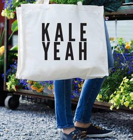 24 Carrot Canvas Tote- Kale Yeah