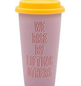 Say What We Rise Thermal Mug