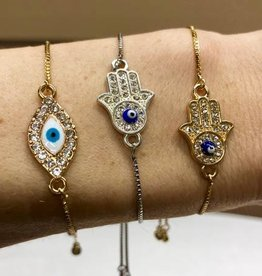 Nikki Smith Designs Good Karma Slider Bracelet