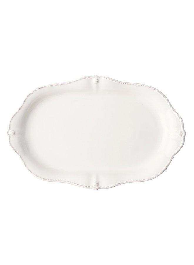 """Berry & Thread Whitewash 19"""" Platter"""