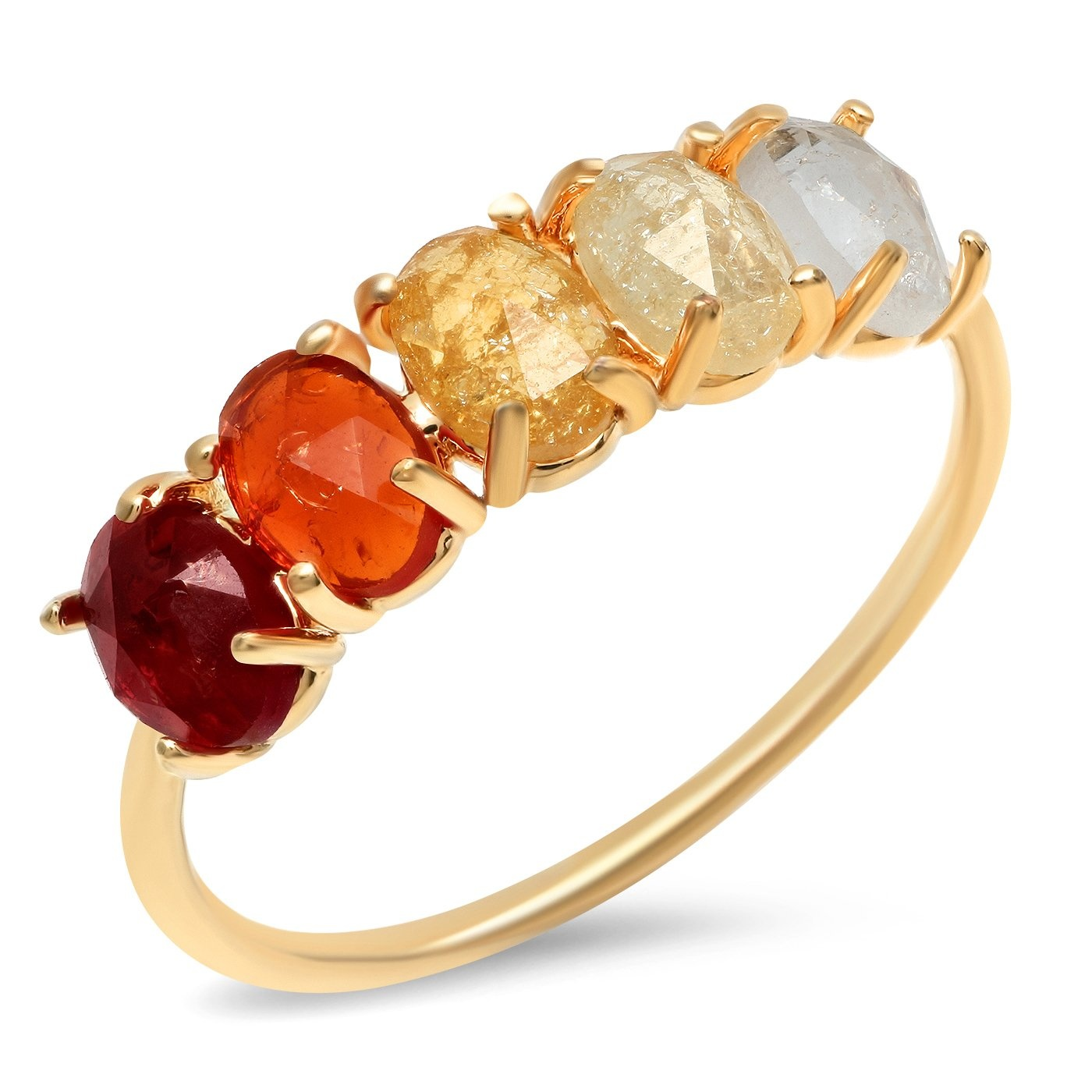 Tai January Ombre Birthstone Ring