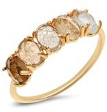 Tai April Ombre Birthstone Ring