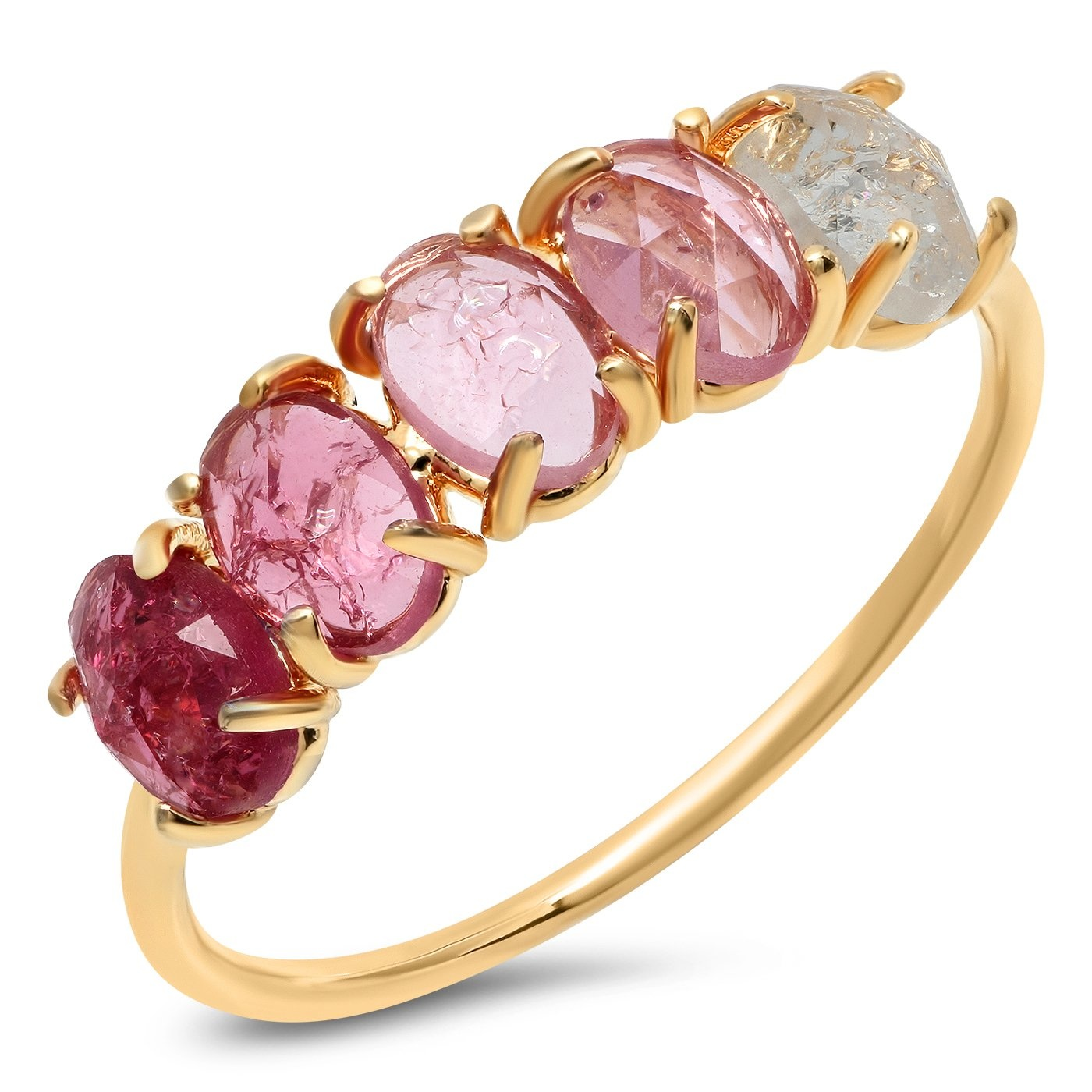 Tai July Ombre Birthstone Ring