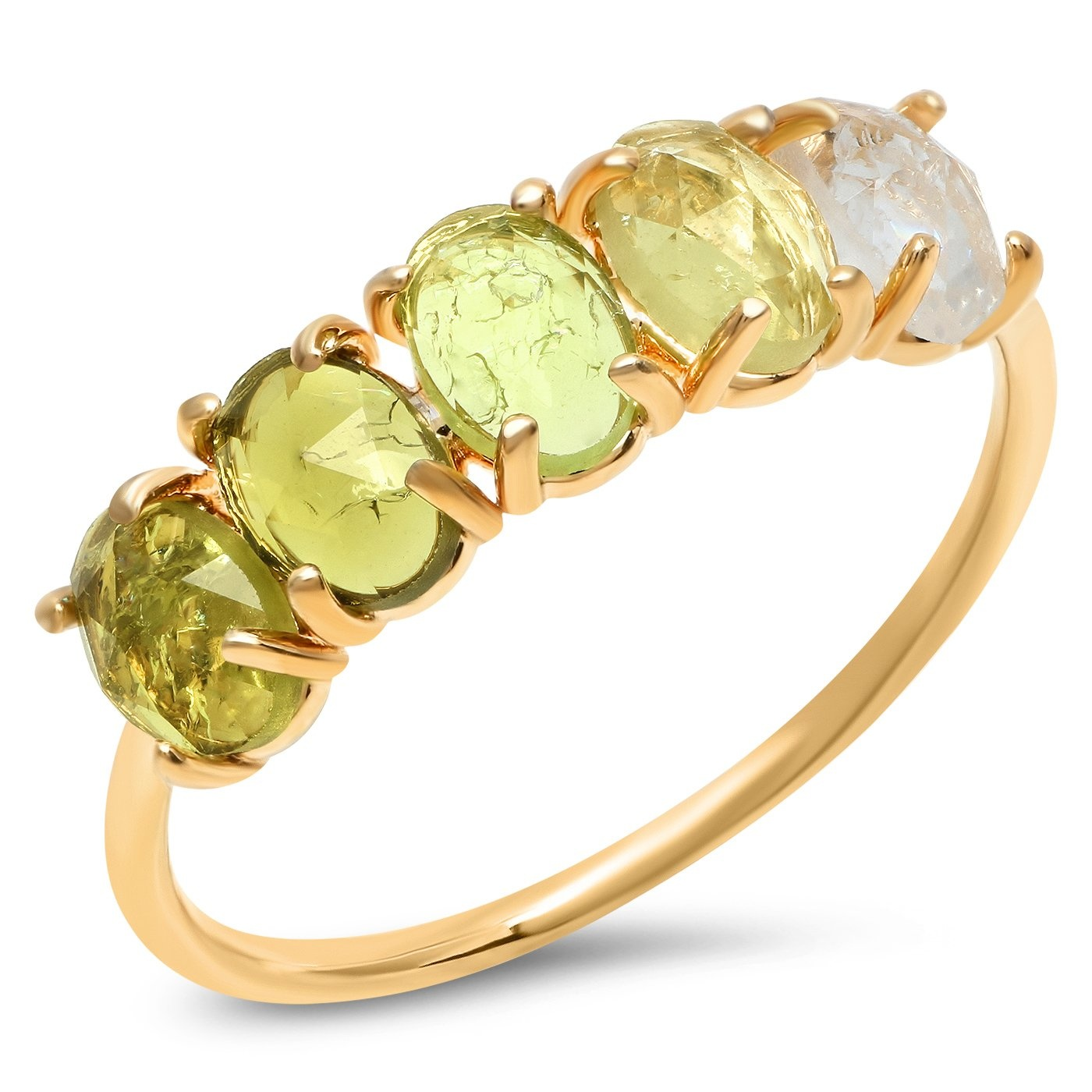 Tai August Ombre Birthstone Ring