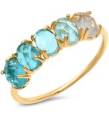 Tai December Ombre Birthstone Ring