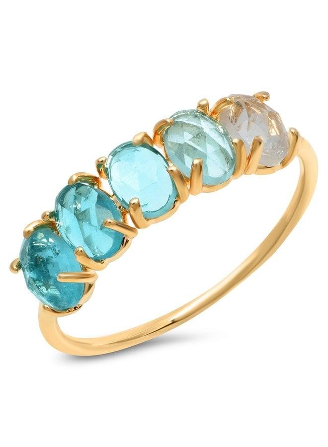 December Ombre Birthstone Ring