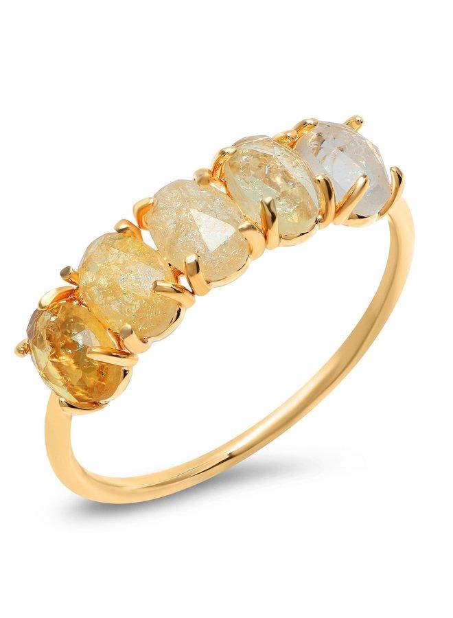 November Ombre Birthstone Ring