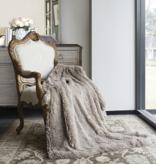 Duke Imports Inc. Tan Ombre Faux Fur Throw