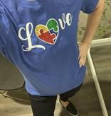 Sweet Caroline Love Autism Awareness Shirt