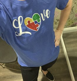 Sweet Caroline Love Autism Awareness Shirt