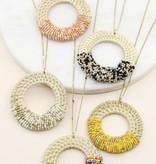 Avenue Zoe Bamboo Sead Bead Necklace