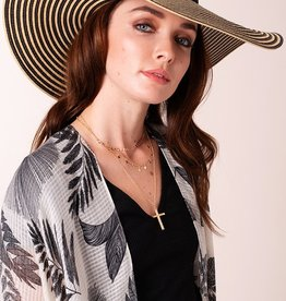 Avenue Zoe Floppy Straw Hat