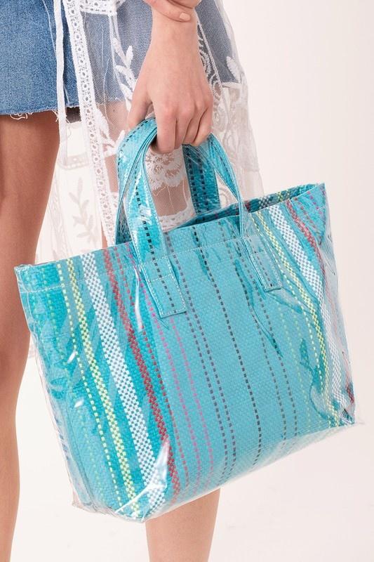 Avenue Zoe Whats Inside Tote Bag