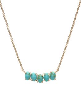 Tai Birthstone Necklace - December
