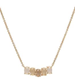 Tai Birthstone Necklace - April