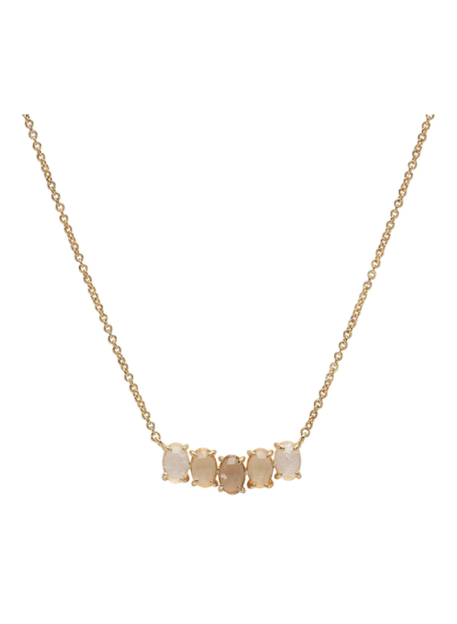 Birthstone Necklace - April