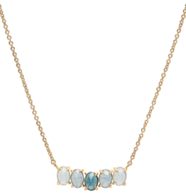 Tai Birthstone Necklace - March