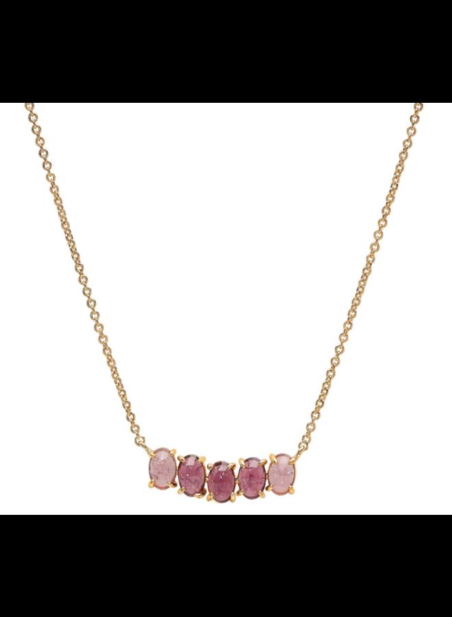 Birthstone Necklace - February