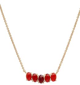 Tai Birthstone Necklace - January