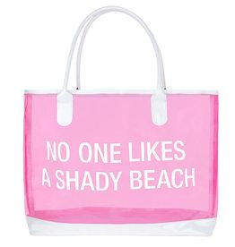 Say What PVC Beach Bag