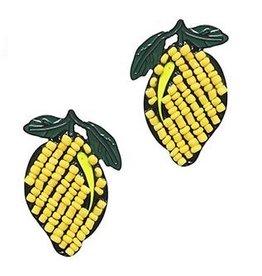 Golden Stella Lemon Earrings