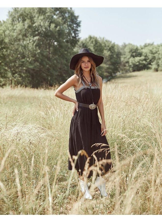 Braid Trim Dress