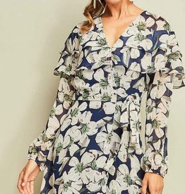 entro Rebecca Wrap Dress
