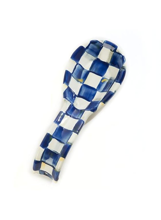 Royal Check Spoon Rest