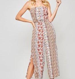 Promesa Culotte Floral Jumpsuit