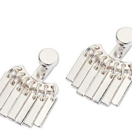 Jenny Bird Raya Earrings SIlver