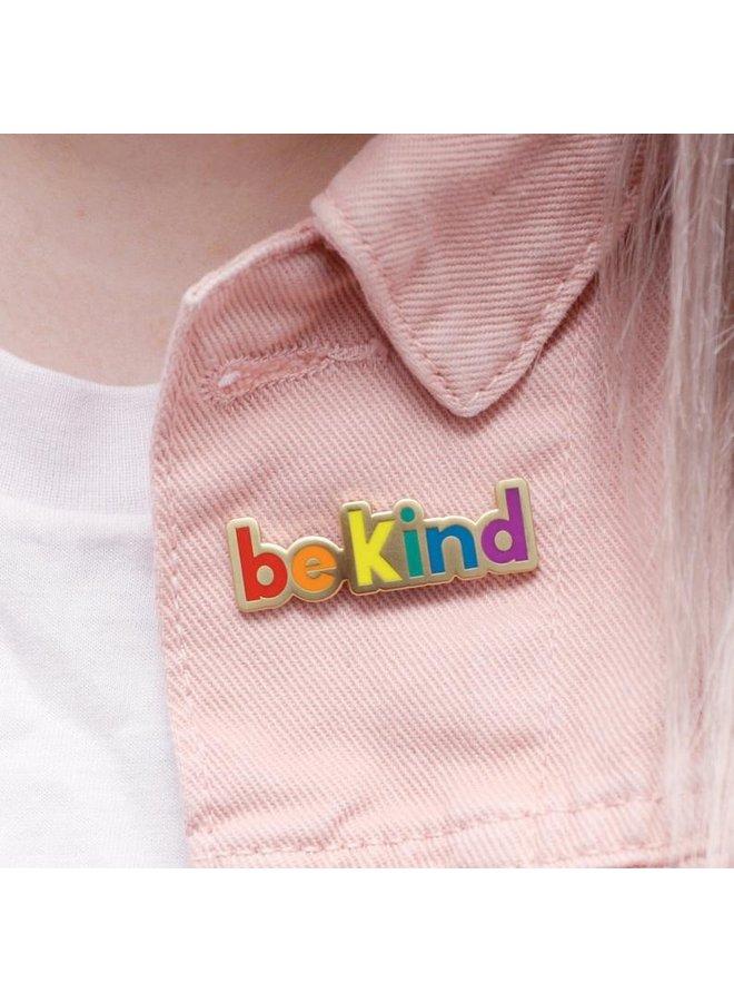 Be Kind Enamel Pin