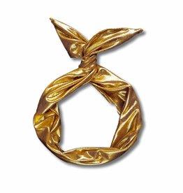 Byrd Byrd Headband - Metallic Gold