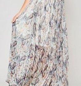 Promesa Paisley Maxi Skirt