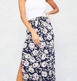 Promesa Posey Navy Skirt