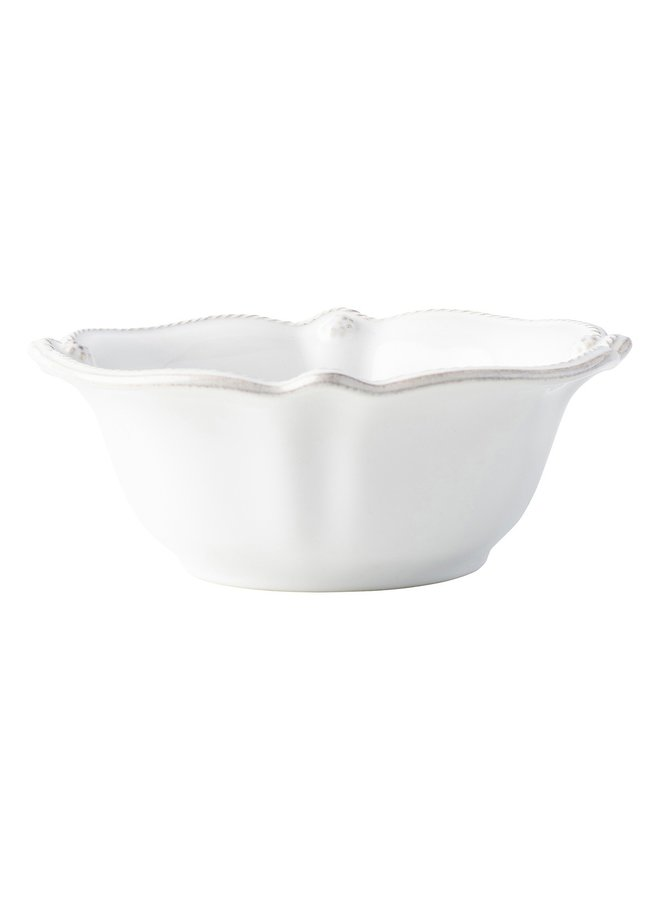 Berry & Thread Whitewash Cereal/Ice Cream Bowl