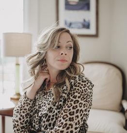 Ellison Look Book - Leopard Flirty Dress