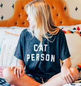 Friday + Saturday Look Book - Cat Person Tee