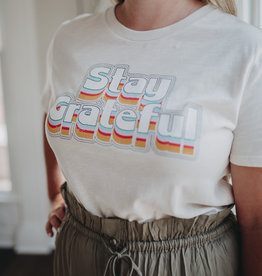 By Together Look Book - Stay Grateful Tee
