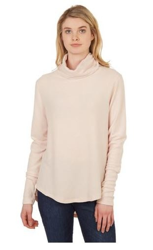 Theo & Spence Cozy Cowl Neck Sweater