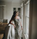 Fifteen Twenty Leopard Midi Cami Dress