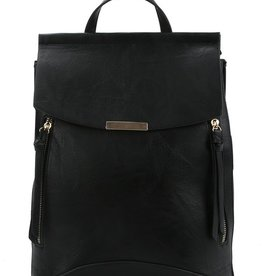 Pjee Handbags Side Zip Coco Convertible Backpack